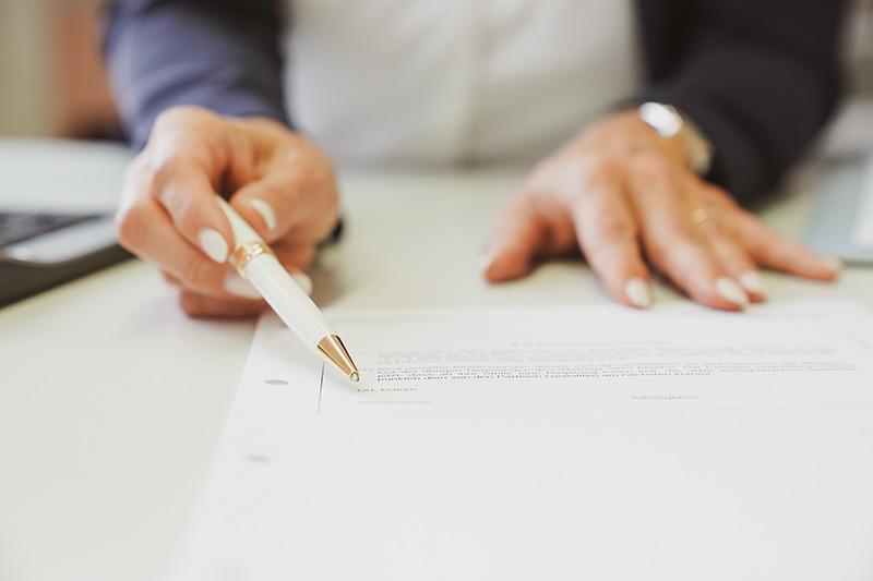 scheidung unterschrift - Scheidungsanwältin Bamberg